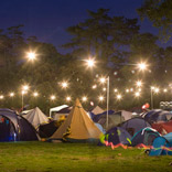 Port Eliot camping area lighting